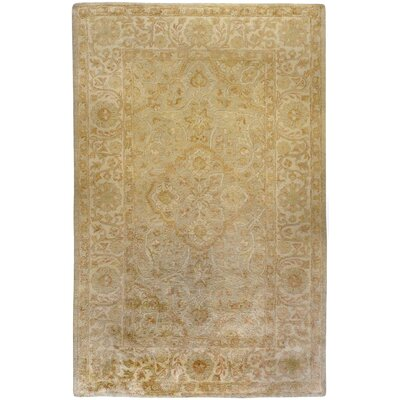 Bogard Beige Area Rug Rug Size: Rectangle 33 x 53