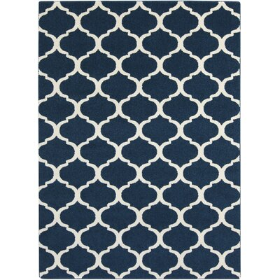 Bogdan Cobalt Area Rug Rug Size: Rectangle 710 x 103