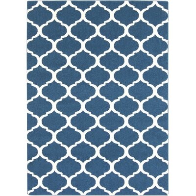 Bogdan Cobalt Area Rug Rug Size: Rectangle 2 x 3