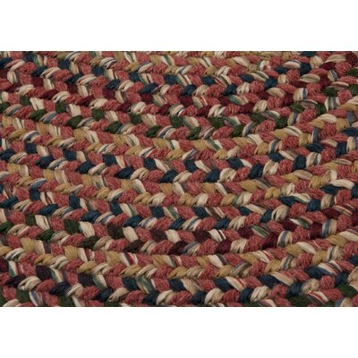 Greenlaw Rosewood Area Rug Rug Size: Rectangle 2 x 4