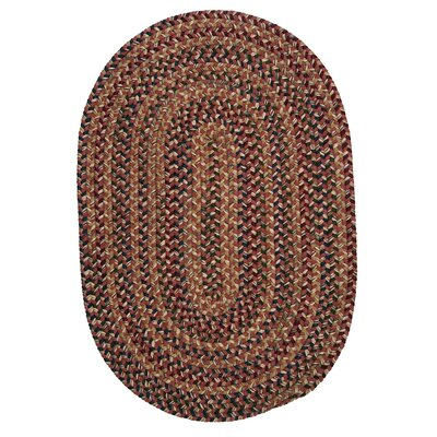 Kesterson Rosewood Area Rug Rug Size: Round 6'