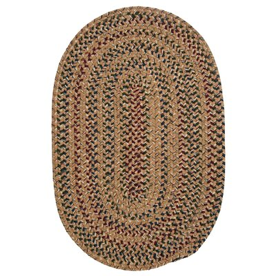 Greenlaw Evergold Area Rug Rug Size: Oval 5 x 8