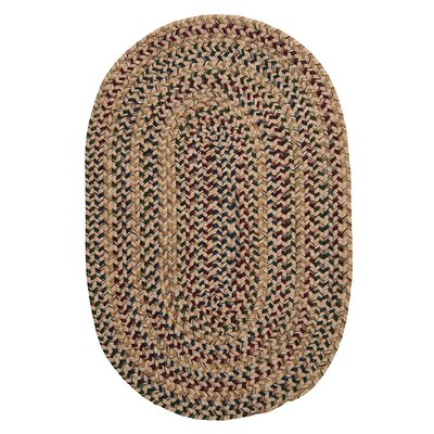 Kesterson Oatmeal Area Rug Rug Size: Round 10