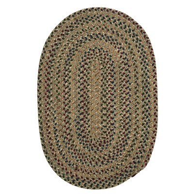 Greenlaw Palm Area Rug Rug Size: Oval 3 x 5