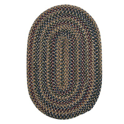 Greenlaw Blue Area Rug Rug Size: Oval 2 x 3