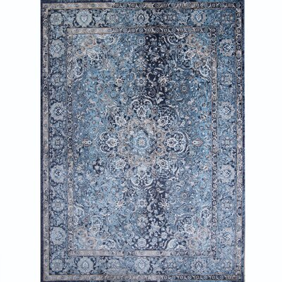Corydon Navy Blue Area Rug