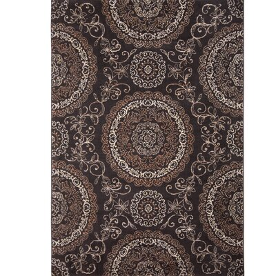 Arend Brown Area Rug Rug Size: 710 x 105