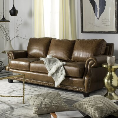 Arecibo Leather Sofa