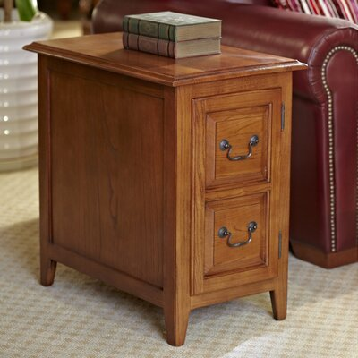 Apple Valley Cabinet End Table Finish: Medium Oak