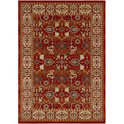 Borgen Burnt Orange Area Rug Rug Size: Rectangle 5 3 x 7 6