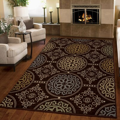 Augusta Brown Area Rug