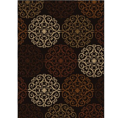 Baronets Flat Brown Area Rug