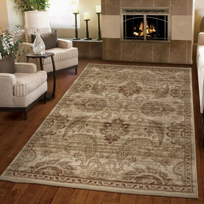 Austintown Meshed Beige Area Rug