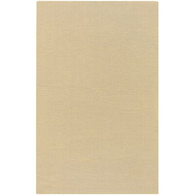 Peever Hand-Woven Desert Sand Area Rug Rug Size: 2 x 3