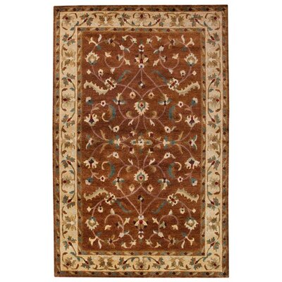 Bowen Tibetan Brown/Tan Area Rug Rug Size: Rectangle 2 x 3