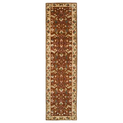 Bowen Tibetan Brown/Tan Area Rug Rug Size: Runner 26 x 10