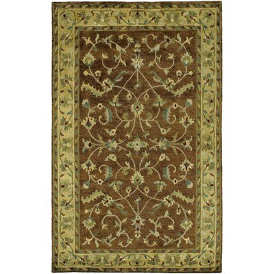 Bowen Tibetan Brown/Tan Area Rug Rug Size: Rectangle 5 x 8