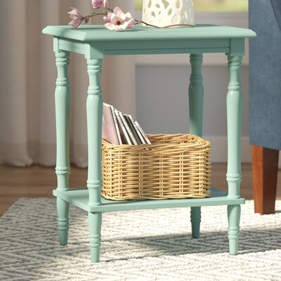 Croydon End Table Finish: Light Blue