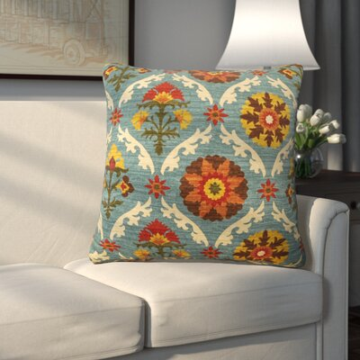 Coggeshall Cotton Throw Pillow Size: 23 x 23