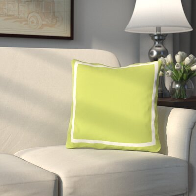 Pekham Throw Pillow Size: 18 H x 18 W, Color: Lime Green