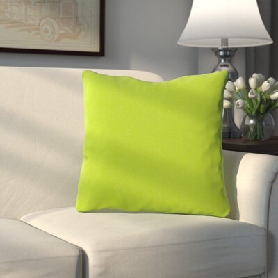 Bonniview Canvas Indoor/Outdoor Sunbrella Throw Pillow Color: Ginkgo Green