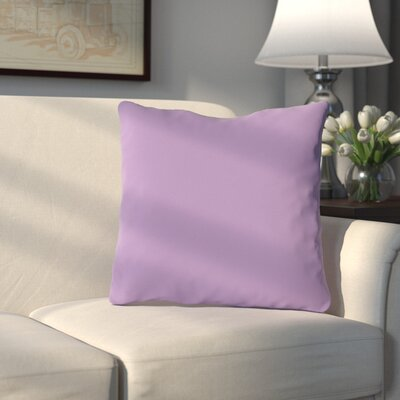 Bergfield Throw Pillow Color: Princess Lavender