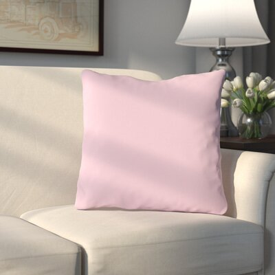 Bergfield Throw Pillow Color: Ballet Pink