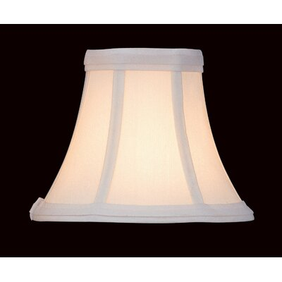 Fabric Bell Candelabra Shade Size: 3 D x 7 W x 6 H