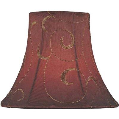 6 Jacquard Bell Lamp Shade Size: 3 T x 6 B x 5 SL