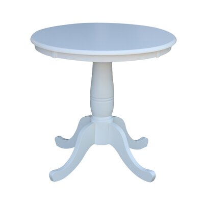 Doylan Dining Table Size: 30, Color: White
