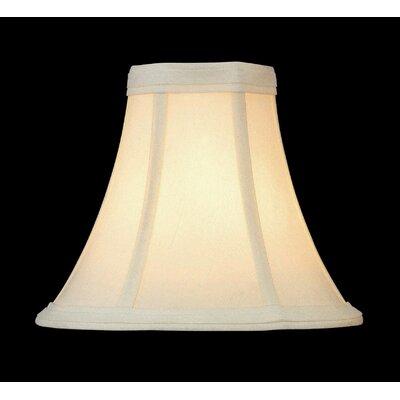 7 Linen Bell Candelabra Shade Size: 5 H x 6 W