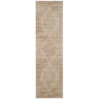 Frith Creme Area Rug Rug Size: Runner 22 x 8