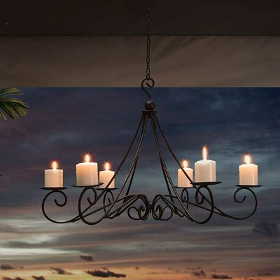 Bolden 6-Light Candle-Style Chandelier