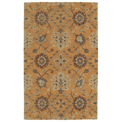 Fairhaven Handmade Orange Indoor/Outdoor Area Rug Rug Size: Rectangle 4 x 6