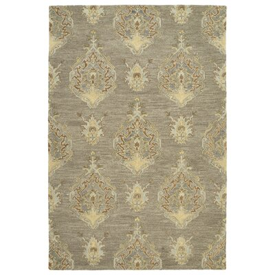 Dartmoor Hand-Tufted Taupe Area Rug Rug Size: 2 x 3