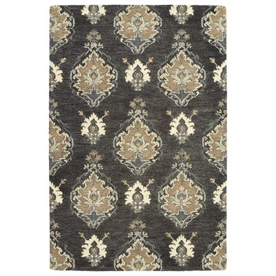 Dartmoor Hand-Tufted Charcoal Area Rug Rug Size: 96 x 13