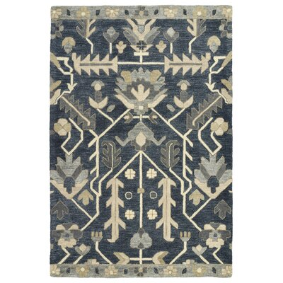 Dartmoor Hand-Tufted Denim Area Rug Rug Size: 8 x 11