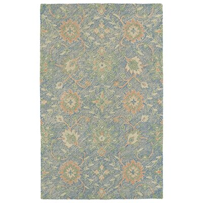 Fairhaven Handmade Blue Indoor/Outdoor Area Rug Rug Size: 4 x 6