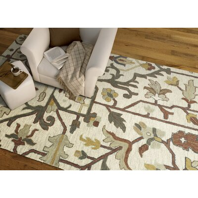 Dartmoor Hand-Tufted Mushroom Area Rug Rug Size: Rectangle 5 x 76