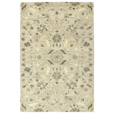 Fischer Hand-Tufted Mushroom Area Rug Rug Size: Rectangle 8 x 10