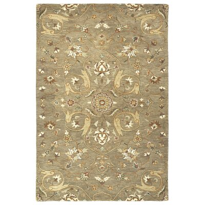 Fischer Hand-Tufted Light Brown Area Rug Rug Size: 2 x 3