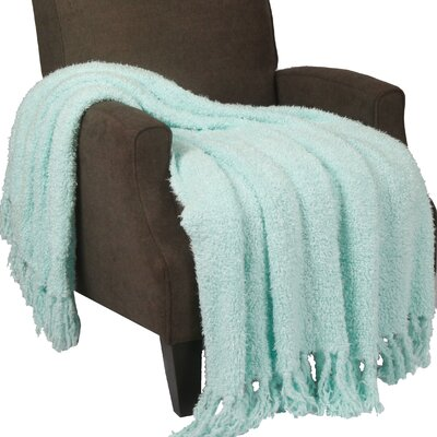 Alyn Fluffy Throw Blanket Color: Harbor Gray