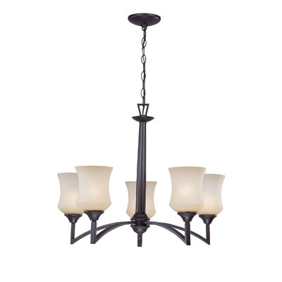 Lockwood 5-Light Shaded Chandelier