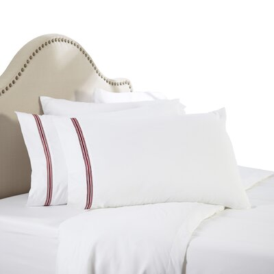 Leeland Satin Stitch 1800 Thread Count Sheet Set