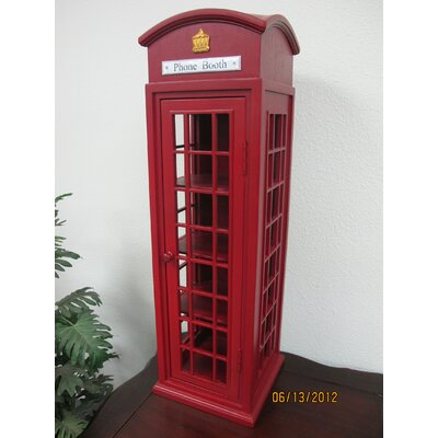 Fraser Mahogany London Mini Telephone Display Case
