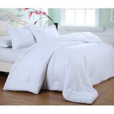 Kelwynne Comforter Set Color: Stark White, Size: Full / Queen