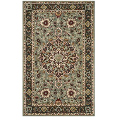 Cranmore Hand-Tufted Gray/Charcoal Area Rug Rug Size: Runner 23 x 8
