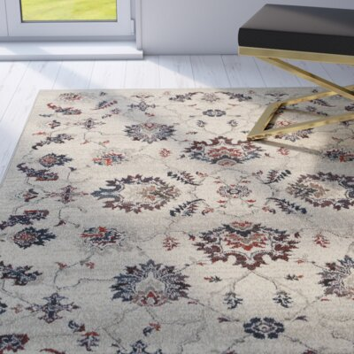Billings Beige Area Rug Rug Size: 910 x 1210