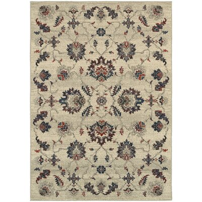 Billings Beige Area Rug Rug Size: Rectangle 910 x 1210