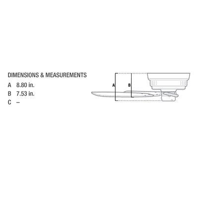 42 Low Profile 5-Blade Ceiling Fan